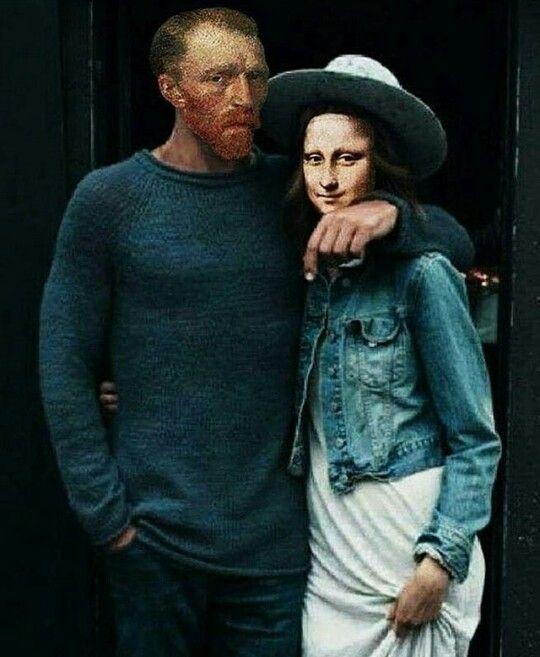 Ван Гог и Мона Лиза ))))))))