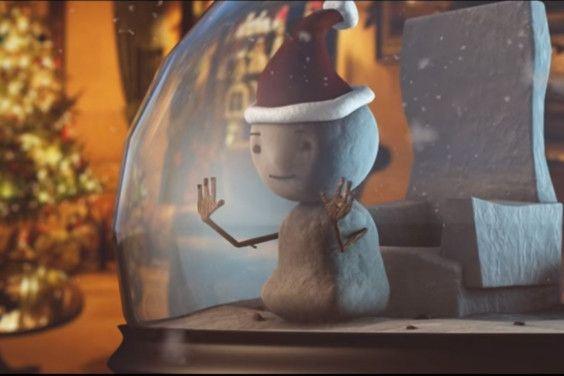 John Lewis offers teenager job after spoof 'Christmas advert' becomes viral hit  /john-lewis-offers-teenager-job-spoof-christmas-advert-becomes-viral-hit/                               John Lewis Snowglobe