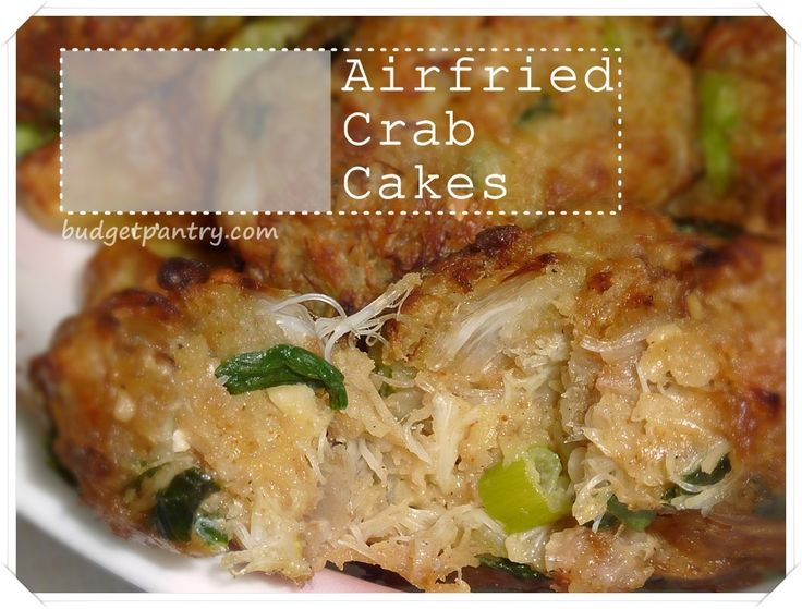 Cooking Crab Cakes In Airfryer Recipe