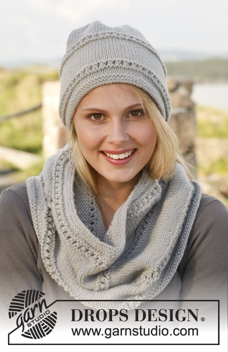 Free Pattern: Girl on the Go neck warmer and hat