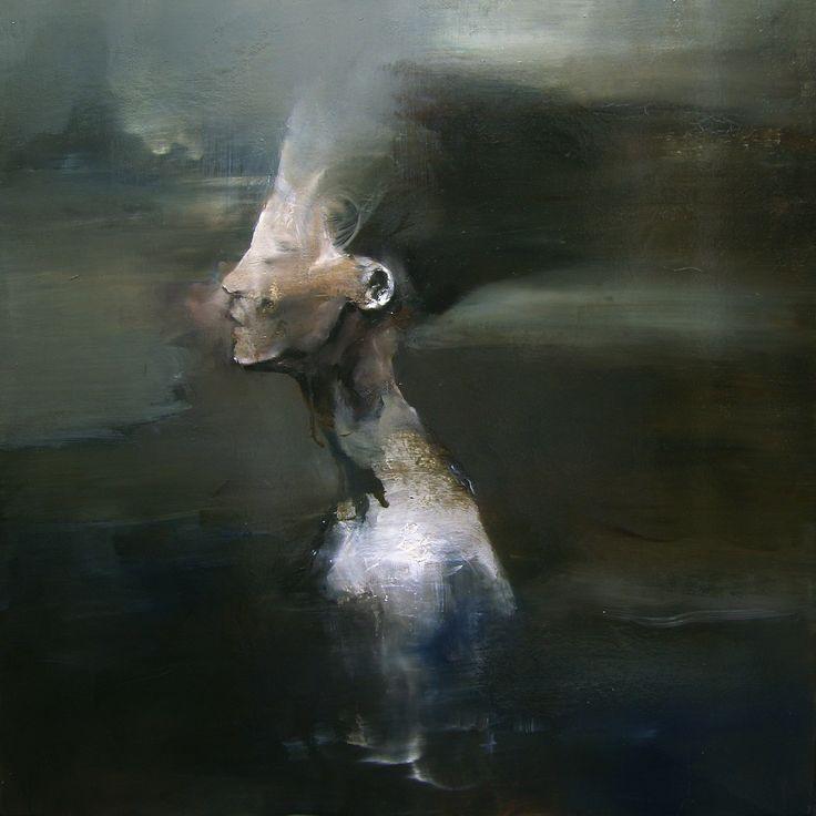 Maurizio L'Altrella (2014) Timeless olio su tela cm 80 x 80