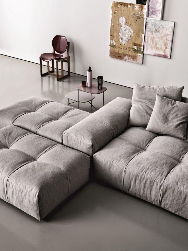PIXEL Modular Upholstered Sofa By Saba Italia   Design Sergio Bicego