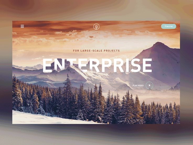 Concept of enterprise site by Nikolay Ivanov for AIC