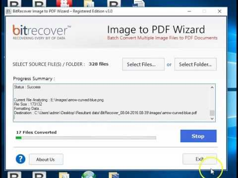 How to Convert Multiple Image Files to PDF Format with Hyperlinks?