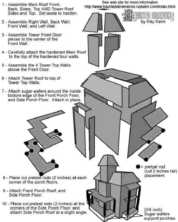 haunted house template  u2026