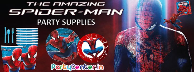 Buy Spiderman Party Supplies Only At Partycenter.in