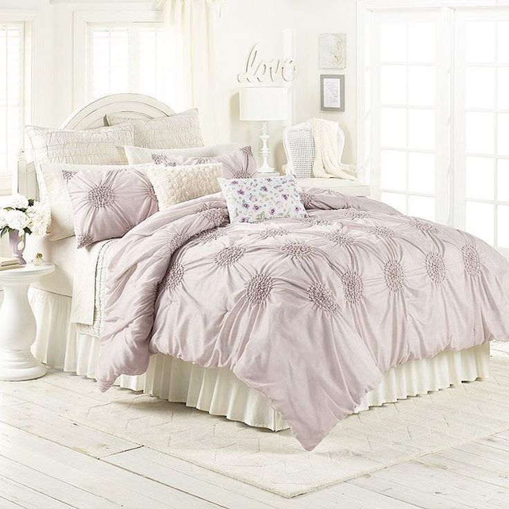 LC Lauren Conrad for Kohl's Eloise Bedding Set in Lilac