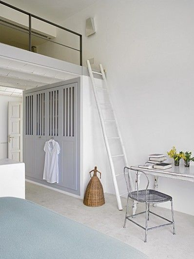 Best 25 mezzanine bed ideas on pinterest eclectic bunk beds hippie chic bedrooms and - Bed mezzanie kind ...