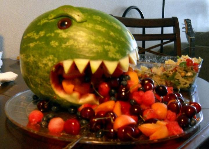 Godzilla watermelon
