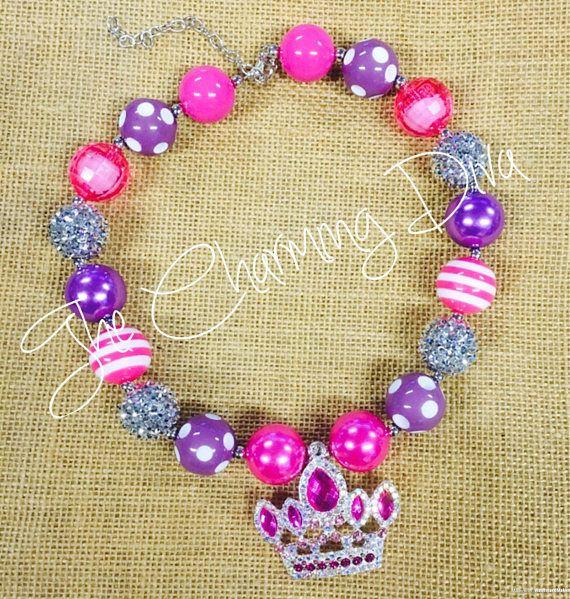 Corona de la Tiara de la princesa Bubblegum collar