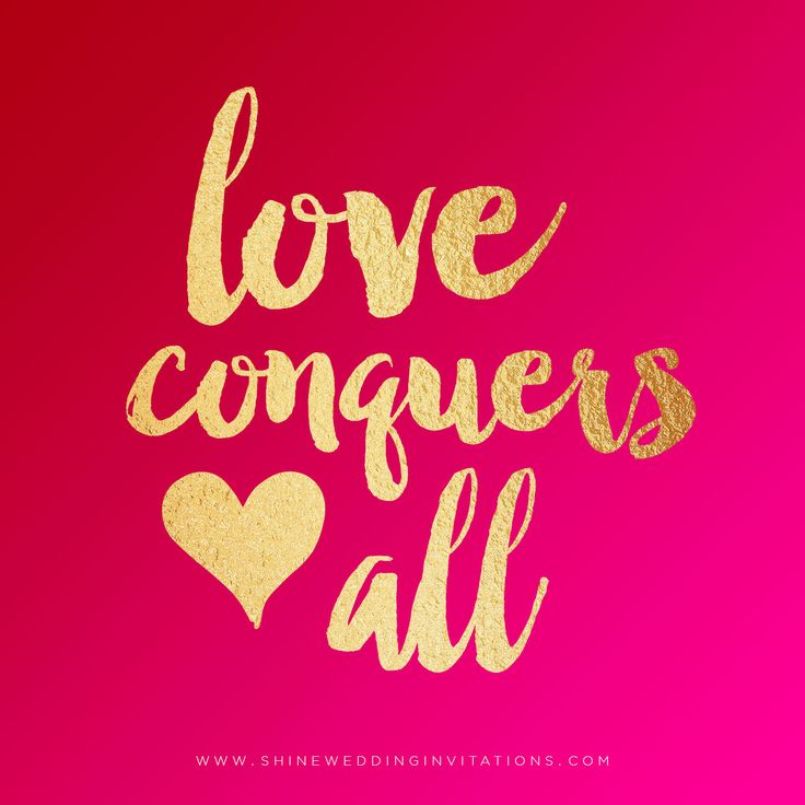 Happy Valentine's Day!  Love conquers all - so true.  #valentinesday #happyvalentines