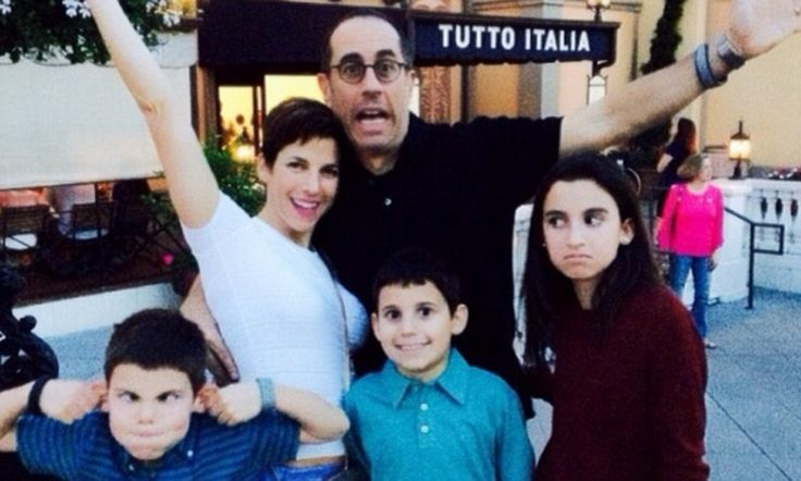 Jerry Seinfeld takes his wife and children to Disneyland