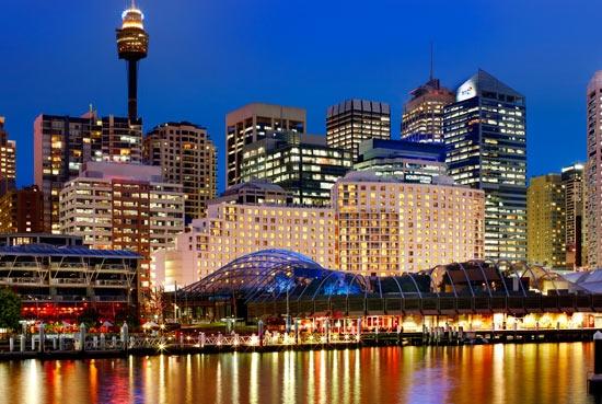 Darling Harbour twilight