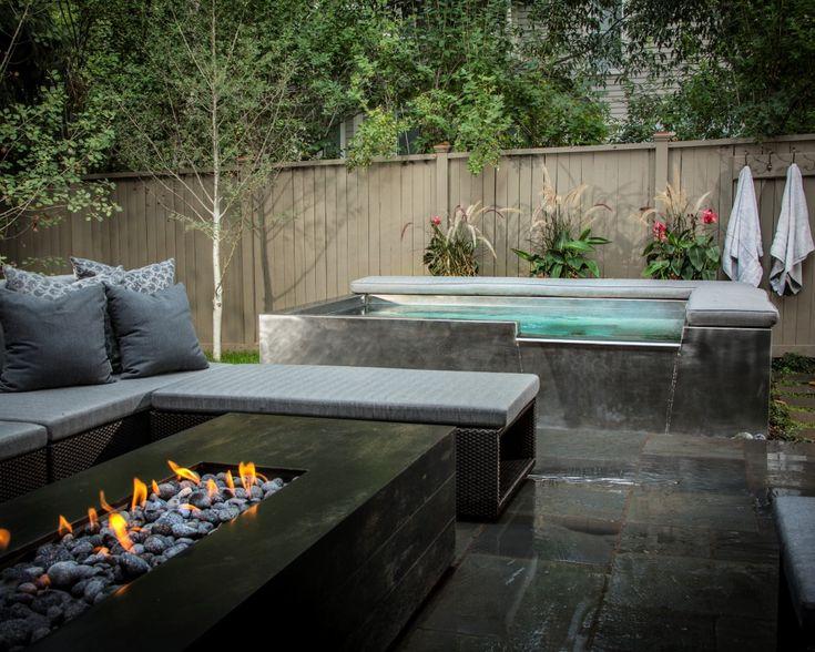 18 Best Inground Hot Tubs Images On Pinterest Backyard