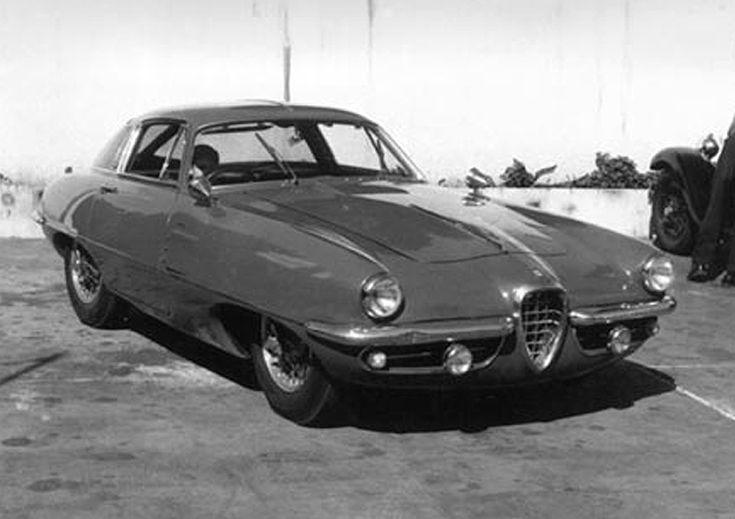 Alfa Romeo 1900C SS Berlinetta by Boano (1955)