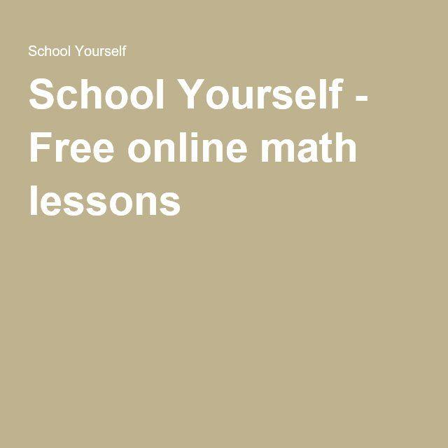 Free online math tutoring