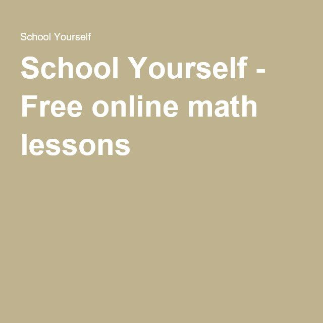 Free online math problems