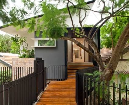 Image result for entry steps through roof