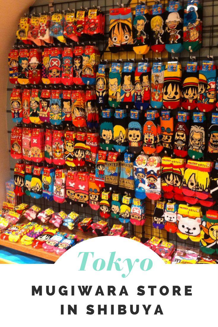 Der Mugiwara Store One Piece Laden In Shibuya War Erste Offizielle Merchandise Shop