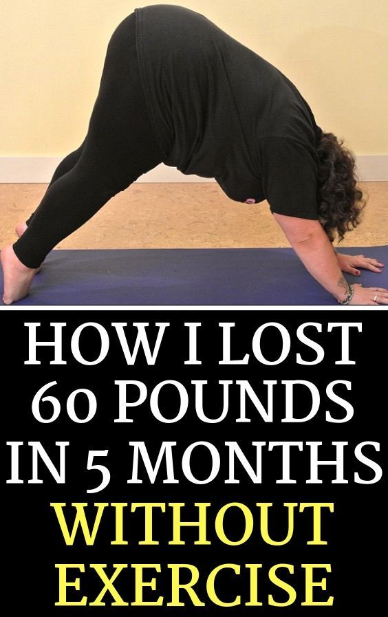 How To Realistically Lose Over 60 Pounds In Just 5 Months Without