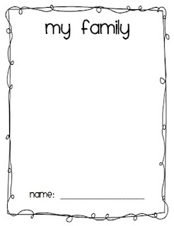 preschool family themed coloring pages - photo#32
