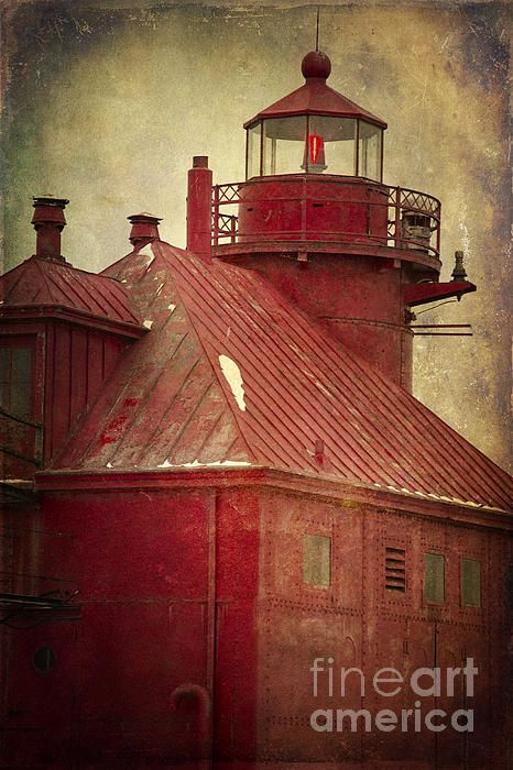 Sturgeon Bay lighthouse in Wisconsin, USA. To view or purchase my prints, visit joan-carroll.artistwebsites.com iPhone covers can be purchased at joan-carroll.pixels.com THANKS!