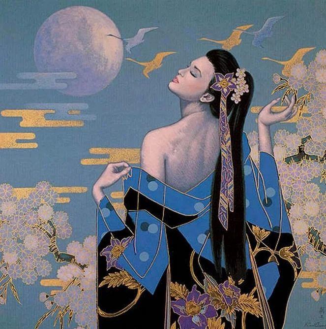 художник Karl Bang  Карл Банг (Karl Bang) родился в Бонг Ка в Шанхае в 1935 году. Его отец был знаменитым коммерческим художником.  Сосед и друг Карла также был замечательным художественным живописцем, который обучался европейским традициям живописи Франции и Бельгии. Естественно, что Карл начал рисовать с ранних лет и на его творчество оказал сильное влияние западный и традиционный китайский стиль.