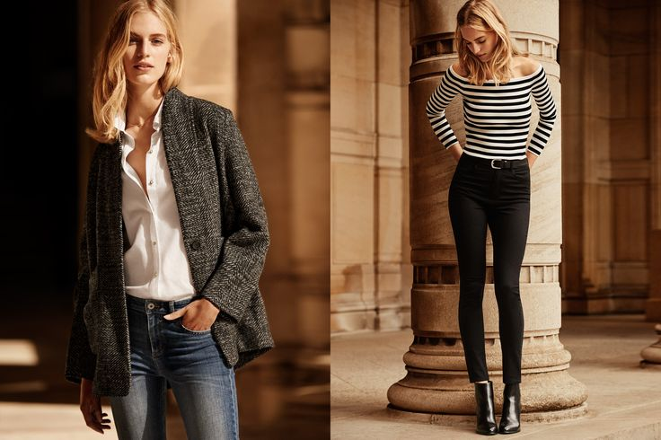 Inšpirujte sa ležérnym štýlom Parížaniek. Džínsy, biele košele, chlapčenské saká a kvetinové vzory vytvárajú nadčasový a šik look.