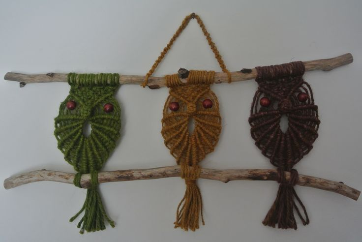 82 best Macrame Owls images on Pinterest