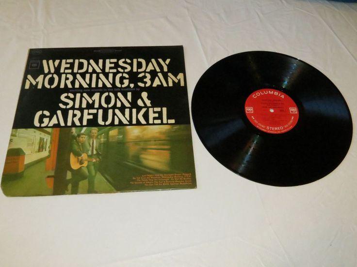 Simon & Garfunkel Wednesday Morning 3AM CS 9049 Stereo LP record vinyl *^