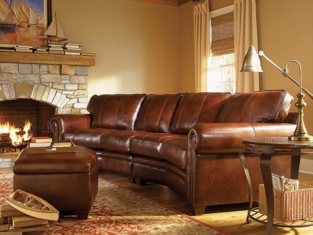 Image result for rustic sectional sofa
