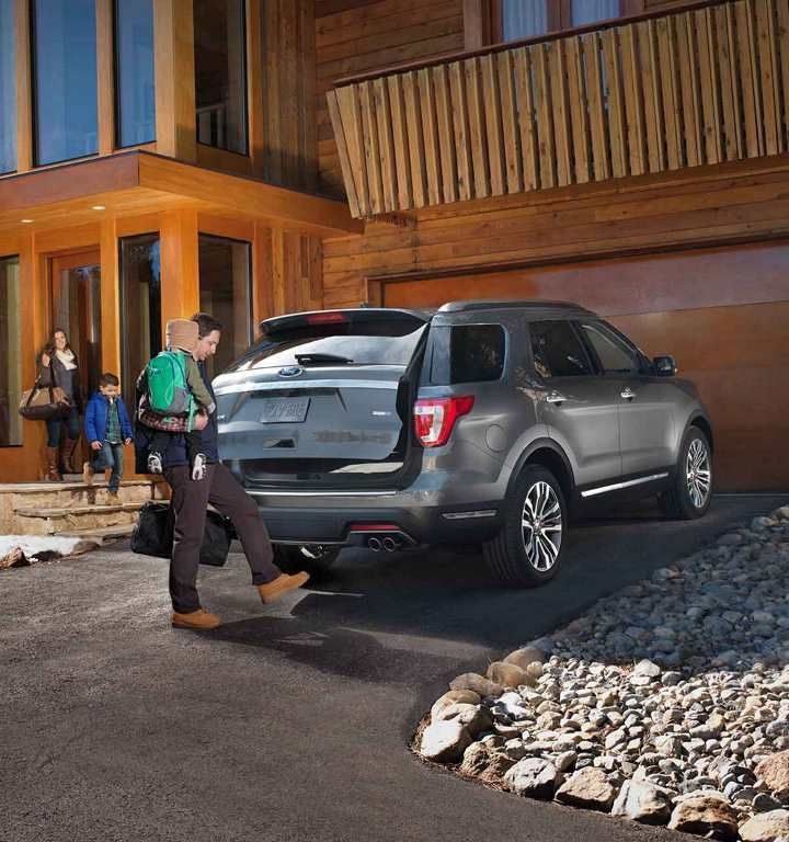 2018 Ford Explorer Platinum In Magnetic Grey With Hands Free Liftgate Ford Explorer 2020 Ford Explorer Explore