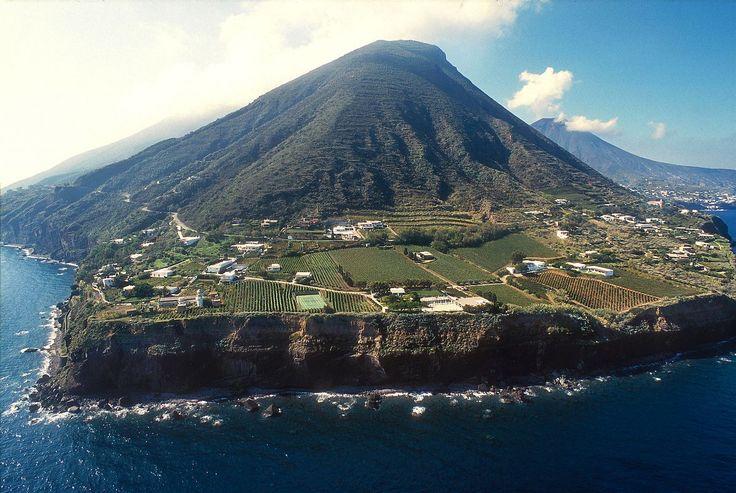 Italian island of Salina
