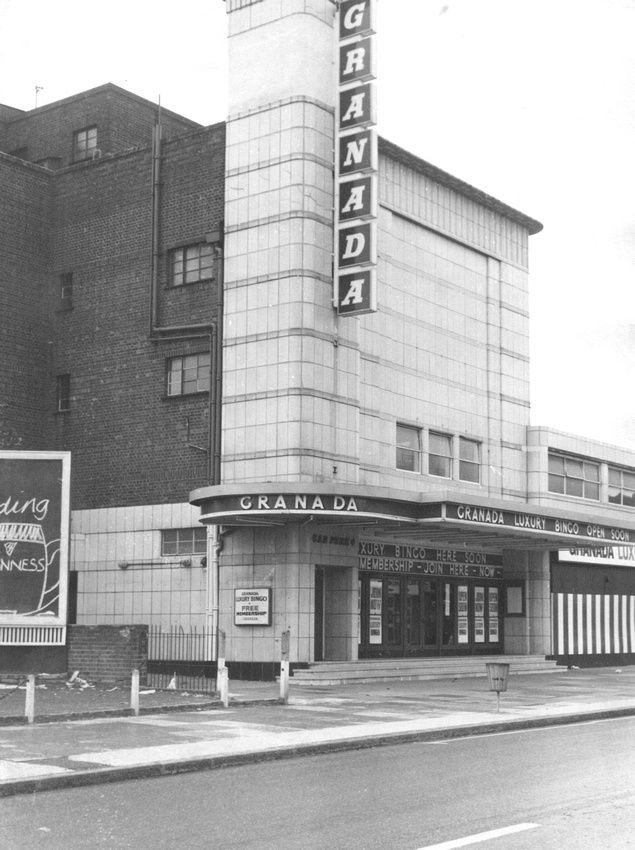 Former Granada Cinema, Barking Road, East Ham. 1975.