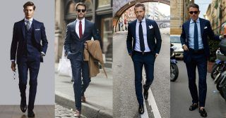 ジャケパンといえば、オンオフ問わず男性にとって欠かせない着こなしの定番だ。定番だけにコーディネートによって印象に大きく差が出るスタイルであることも事実。今回はジャケパンスタイルにフォーカスして、着こなしに基礎知識や実際の着こなし&注目アイテムについて紹介! ジャケパンスタイル「ダブルブレスト×ウィンドウ・ペン・チェックスラックス」 ブルーのジャケットとシャツでグラデーションさせた着こなしに、ウィンドウ・ペンチェックのスラックスを合わせたジャケパンスタイル。タイには赤みがかったブラウンでコントラストをきかせている。 londonsockcompany TAGLIATORE ダブルジャケット   詳細・購入はこちら ジャケパンスタイル「ネイビージャケット×ダークネイビーパンツ」 「ネイビー×ネイビー」あるいは「グレー×グレー」といった同系色のジャケット×パンツを組み合わせたスタイルがここ数年のトレンドである。ネイビーのジャケットにダークネイビーのスラックスを合わせたトーンオントーンスタイル。胸元にもダークネイビータイをあわせ、シャープで引き締まった印象に。 von-heese...