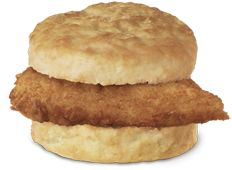 Nothing beats a Chick-fil-a chicken biscuit - ever.