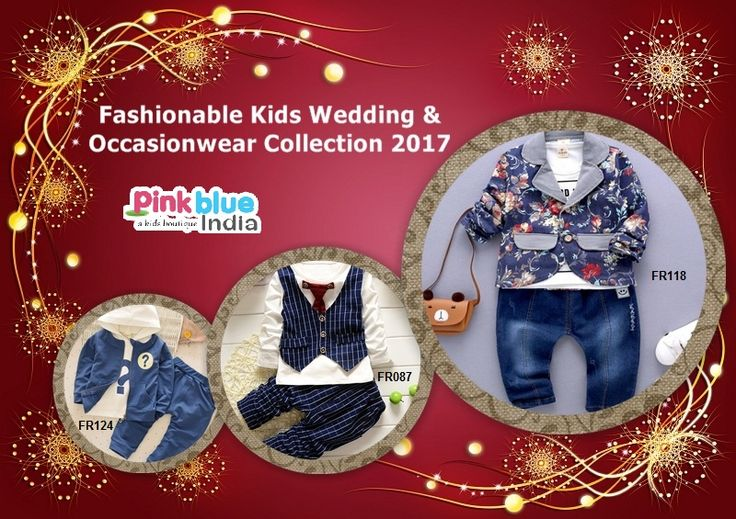 Fasjionable Baby Boys Occasion Wear, Kids Wedding Outfits & Suits, Designer Party Wear Dresses for Toddler Boys