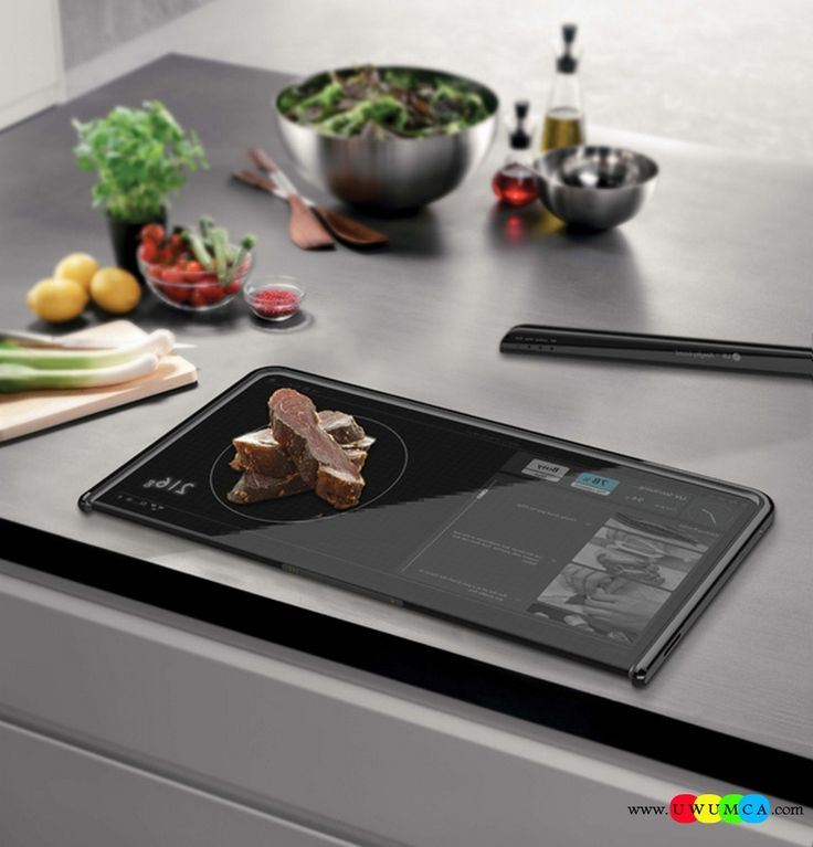 Kitchen:Almighty Board By Yanko Design Unique Quality Kitchen Gadgets For Seniors Men Healthy Eating High Tech Storage Solutions DIY Electrical Kitchens Gadget Tablet Design Ideas (1) Unique and Quality DIY High Tech Kitchen Gadgets to Drool Over