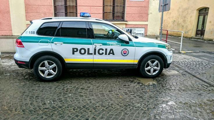 VW Police car