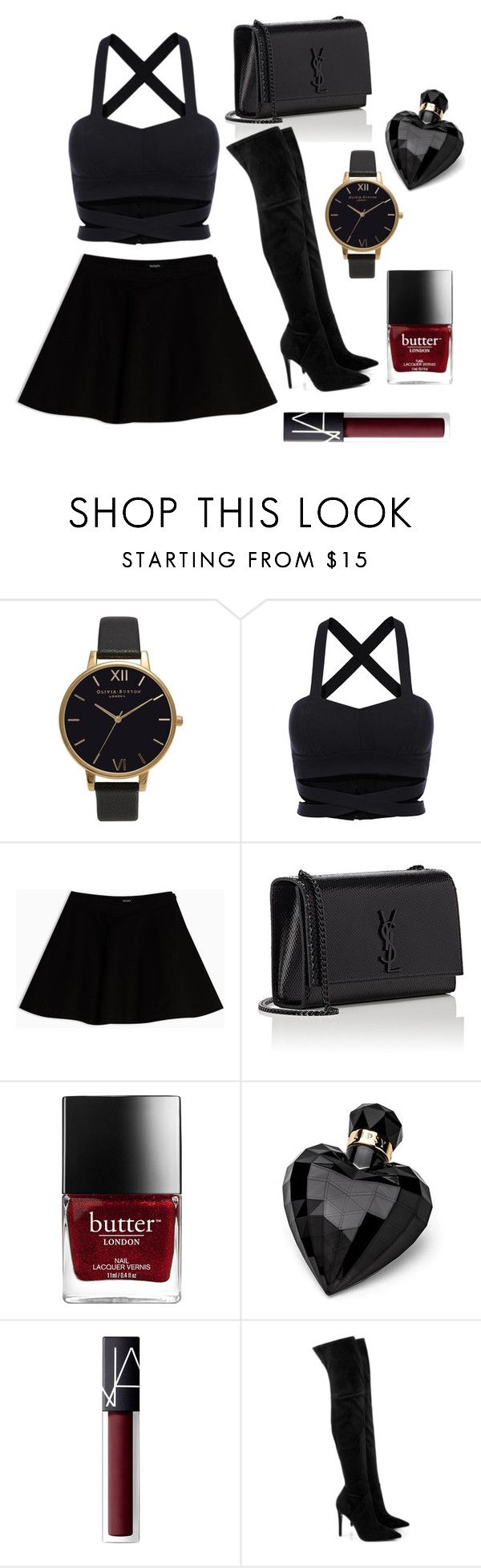 """""""Chic"""" by electraz on Polyvore featuring Olivia Burton, Max&Co., Yves Saint Laurent, Lipsy, NARS Cosmetics and Kendall + Kylie"""