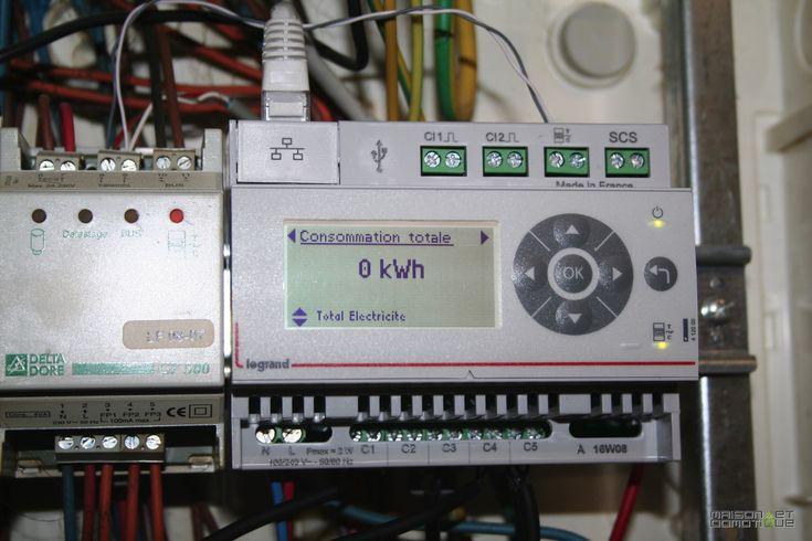 Suivez votre consommation d'énergie avec l'Eco Compteur Legrand