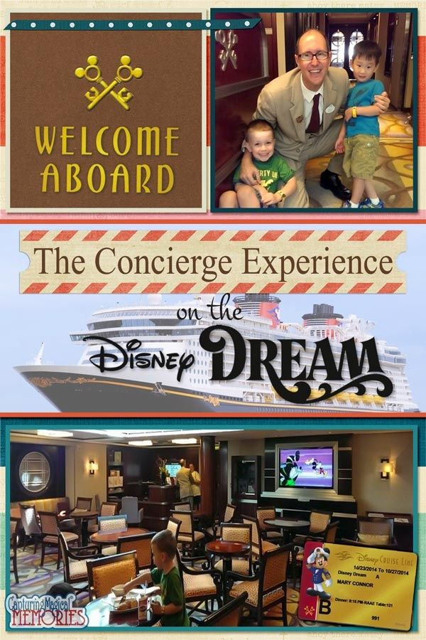 Disney Cruise Line - Concierge Level on the Disney Dream