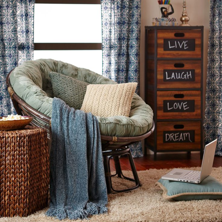 Papasan Chair Frame   Brown $66.99
