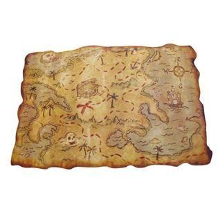 Mapa Tesoro Pirata