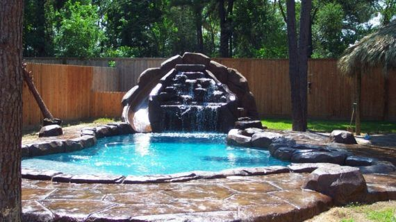 National Pool Design 1920×1440 Swimming Pool With Waterfall ...
