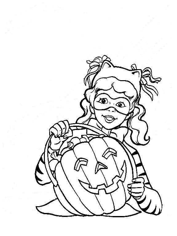 Enter Page Title Here Halloween ColoringBest GirlColouring PagesBig KidsPages