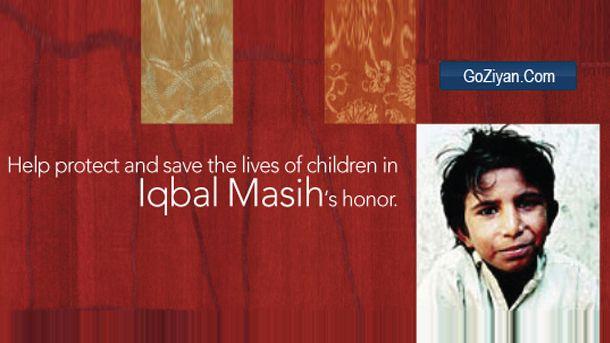 Iqbal Masih, An Unkown Hero of Pakistan.
