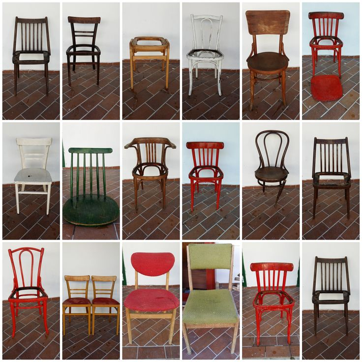 The old chairs are waiting for a new life!
