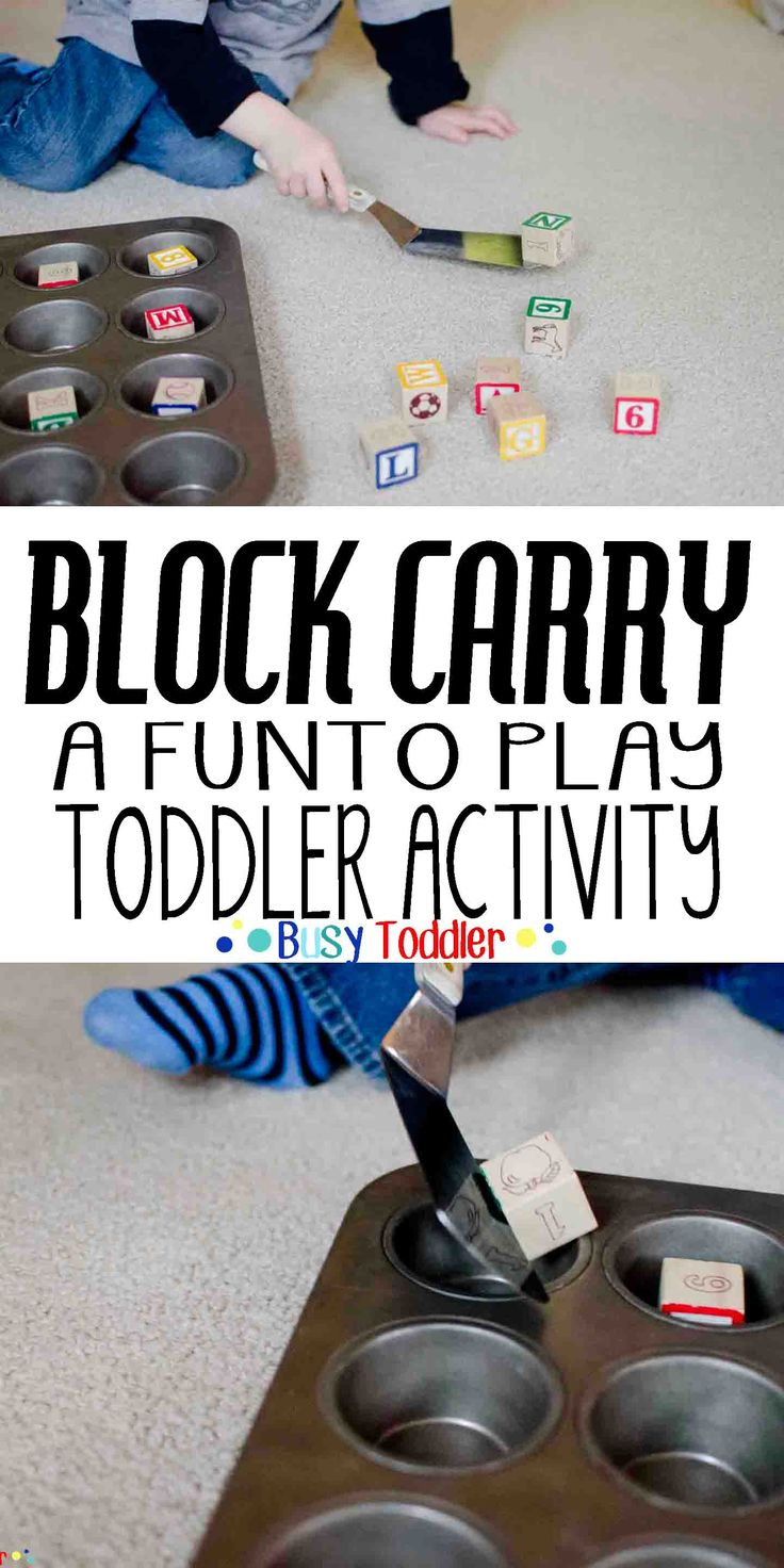 Block Carry: Practicing fine motor skills with a fun little game