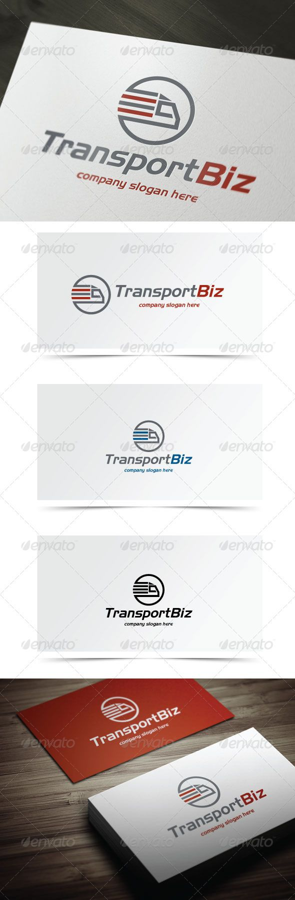 Transport Biz - Logo Design Template Vector #logotype Download it here: http://graphicriver.net/item/transport-biz/6123960?s_rank=353?ref=nesto